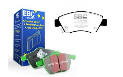 EBC Greenstuff Bremseklodser - For - Akebono - DP2891