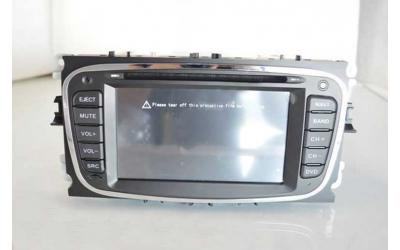 "Ford Autoradio Navi, DVD, USB, BT, 6,2"" Type 2 Sort GEN5.1"