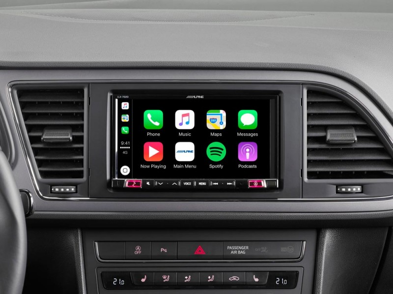 "Seat Leon 5F Alpine Style 7"" Touch BT Carplay Android iLX-702LEO"