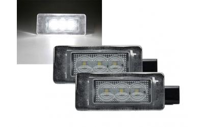 Citroen / Peugeot LED Nummerpladelys Type 2 OEM Design