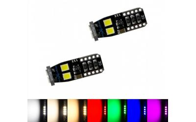 MaXlume T10 6x SMD 2835 CAN-Bus LED 360LM W5W 6000K
