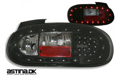 Mazda MX-5 NB LED Baglygter Eagle Sort 98-05