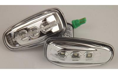 Mercedes Sideblink Type 7 LED EE Krom