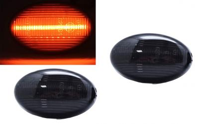 Mercedes Type 2 Sideblink Orion LED Sort W168 W639 W447 Smart