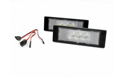 LED Nummerpladelys Alfa BMW Fiat Mini Opel OEM Design