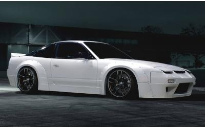 Nissan 200-240SX S13 Rocket Bunny Widebody Kit