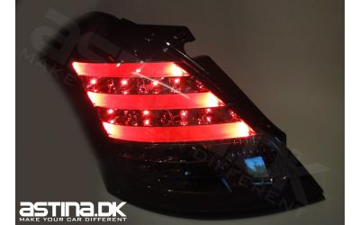 Suzuki Swift NZ Baglygter LED LT + Blink Mørk