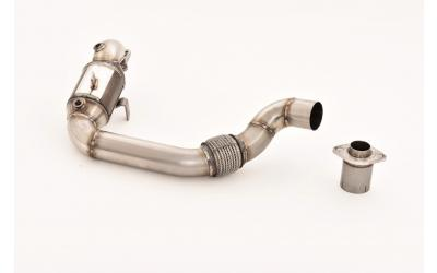 Suzuki Swift AZ Downpipe 76mm m. Kat 1.4 Boosterjet