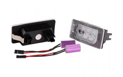 VAG LED Nummerpladelys Audi VW Type 109 OEM Design