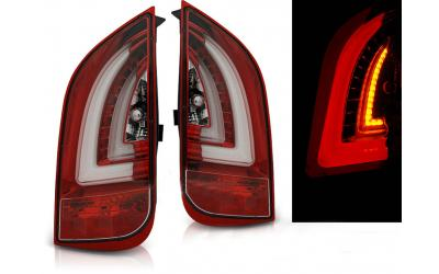 Seat Mii Baglygter LED Light Tube Rød / Klar