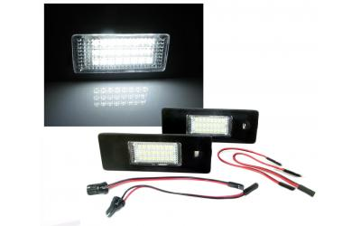 LED Nummerpladelys Alfa BMW Fiat Mini Opel